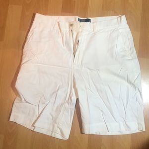 Polo by Ralph Lauren white shorts